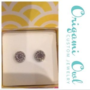 ❤️New Listing❤️ Origami Owl purple earrings